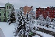 Sníh na Hranicku - 4. února 2019