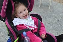 Pětiletá Julinka navštěvuje speciální školku v Novém Jičíně, která se věnuje postiženým dětem, již třetím rokem.