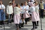 Vítání jara na Masarykově náměstí v Hranicích