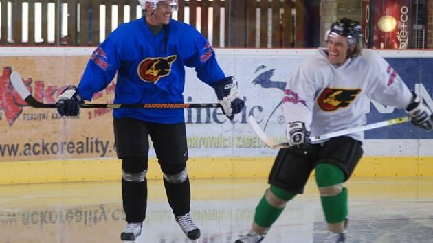 K pátečnímu přípravném utkání si hokejisté Prostějova pozvali soupeře z Vídně.