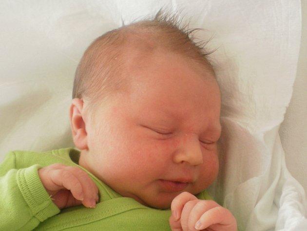 Tadeáš Lukáš, Bezuchov, narozen dne 24. dubna 2013 v Přerově, míra: 48 cm, váha: 3174 g