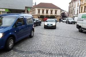 Průjezd centrem Hranic je opět povolen.