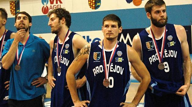 Kamil Švrdlík získal s Prostějovem  stříbro