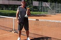 Šestý ročník tenisového Sing Cupu 2016 v Hranicích ovládl po šesté Vladislav Gajdoš