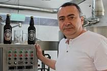 Majitel minipivovaru Chors v Černotíně Radek Sekanina