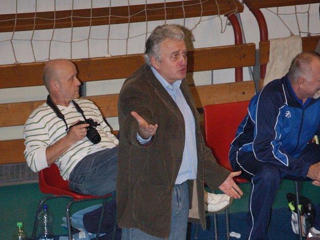 Vladimír Sirvoň, nový kouč přerovských volejbalistek.