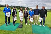 Trumf Challenge 2021 na golfovém hřišti v Radíkově.