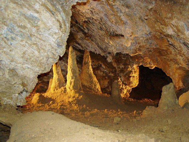 Zbrašovské aragonitové jeskyně v Teplicích nad Bečvou