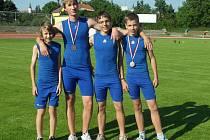 Z hranického oddílu v Olomouci závodili čtyři atleti