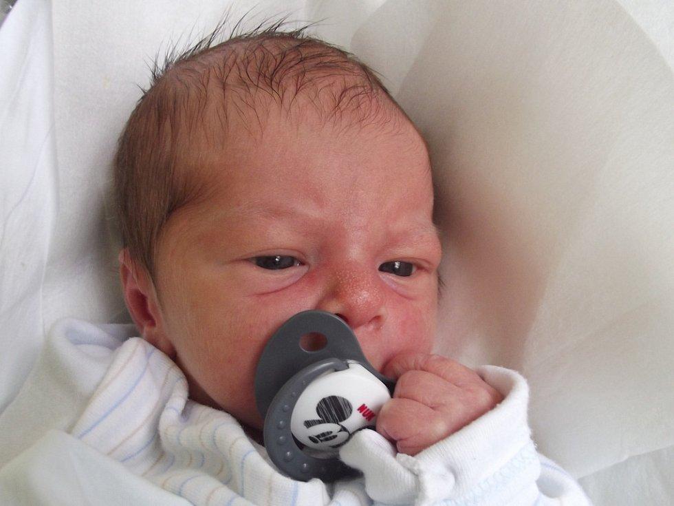 Matěj Moravský, Přerov, narozen dne 19. ledna 2015 v Přerově, míra: 49 cm, váha: 3 190 g