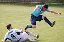 1. FC Přerov  versus FK Kozlovice. Ilustrační foto.