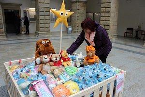 Sbírka hraček v Hranicích