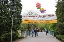 Lázně Teplice nad Bečvou zahájily letošní sezónu.