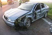 Viník nehody ujel.