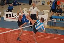 Nohejbalisté se do Přerova sjedou 28. února na mezinárodní turnaj trojic mužů.