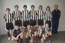 Vítězný tým fotbalových žáků FC Kostelec na Hané.