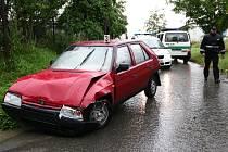 Nehoda na hranické ulici Nová