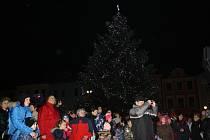 Vánoce v Hranicích v roce 2015.