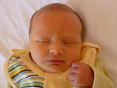 Mikuláš Hapala, Hranice, narozen 27. července 2012 v Novém Jičíně, míra 50 cm, váha 3 480 g