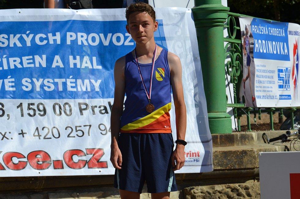Ondřej Glet doběhl třetí v Běžeckém poháru