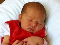 Monika Pracuchová, Hranice, narozena dne 19. června 2016 v Přerově, míra: 49 cm, váha: 3144 g