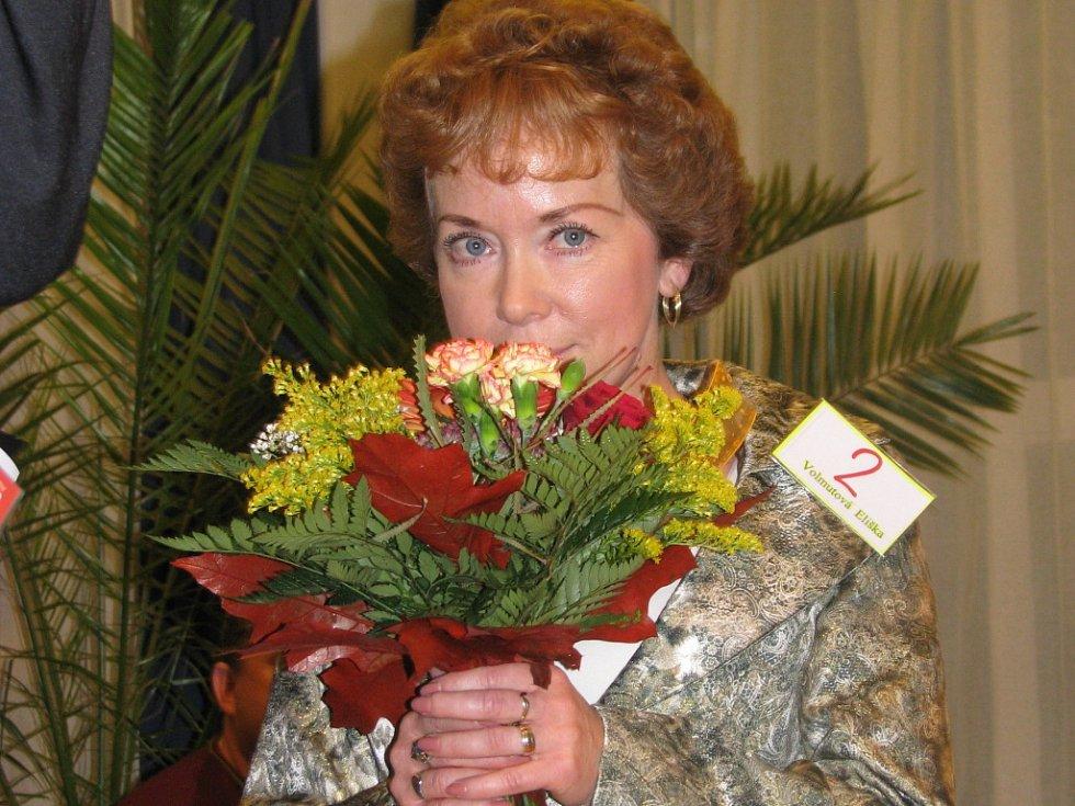 Vítězka třetího ročníku soutěže Eurobabička Eliška Voltumova z Heřmanova Měštce.