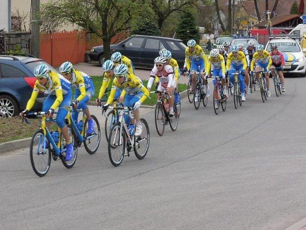 Cyklisté byli rozděleni do několika kategorií, ti nejzdatnější jeli 88 kilometrů