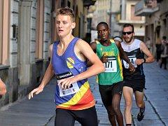 Vojtěch Podjukl při závodě v italském městě Biella