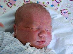 Adam Landsinger, Přerov, narozen 7. února 2012 v Přerově, míra 53 cm, váha 4 036 g
