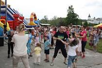 Dětská párty v Hranicích nadchla zdejší děti.