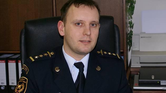 Ředitel územního pracoviště Přerov Hasičského záchranného sboru Olomouckého kraje Miroslav Čoček.
