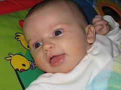 Jana Maléřová, Přerov, narozena 11. listopadu 2011 v Olomouci, míra 48 cm, váha 3 280 g