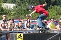 V přerovském skateparku Laguna se uskutečnil Cliché Skate Cup s dotací 25 000 korun.