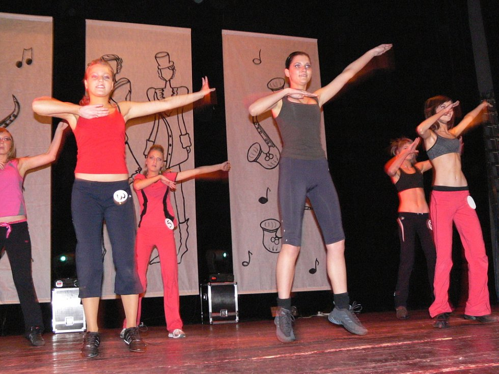 Volnou disciplinu i sestavu aerobiku zvládly dívky na jedničku.