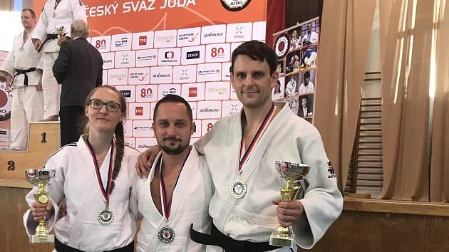 Judisté Železa Hranice uspěli na MČR Masters v Praze.