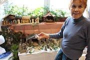 V Galerii M+M v těchto dnech vrcholí přípravy na Výstavu betlémů a vánočních tradic, kterou v pátek 24. listopadu v 17 hodin zahájí slavnostní vernisáž.