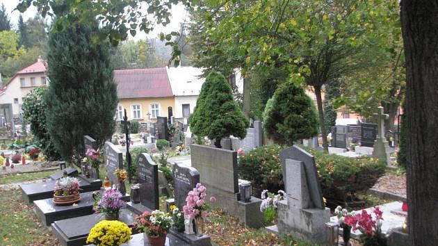 Městský hřbitov v Hranicích