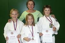 Judo Femax na mistrovství České republiky reprezentovala čtyři děvčata, jež se postarala o tři mistrovské medaile.