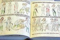 """""""První český komiks"""" – i tak se říká sedm set let staré ilustrované Velislavově bibli."""