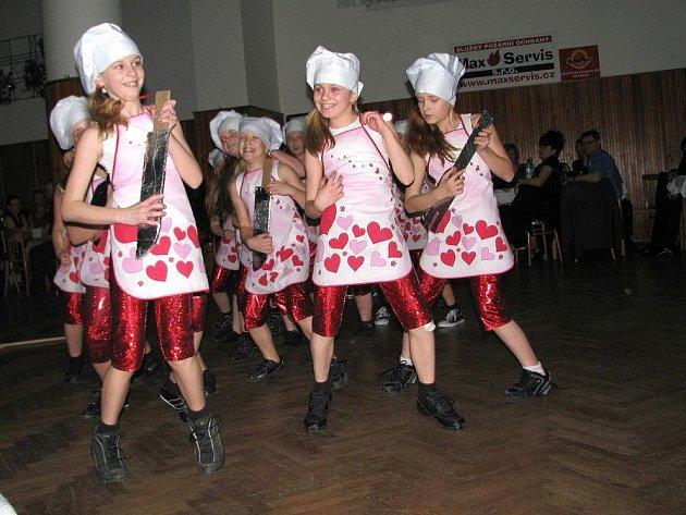 Ples hasičů v Hrabůvce