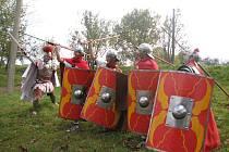 Z Litovle dorazila skupina historického šermu Roma Victor.