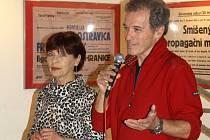 Milan Hein a Marta Skarlandtová navštívili Hranice.