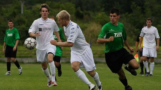 SK Hranice podlehl celku FC TVD Slavičín.