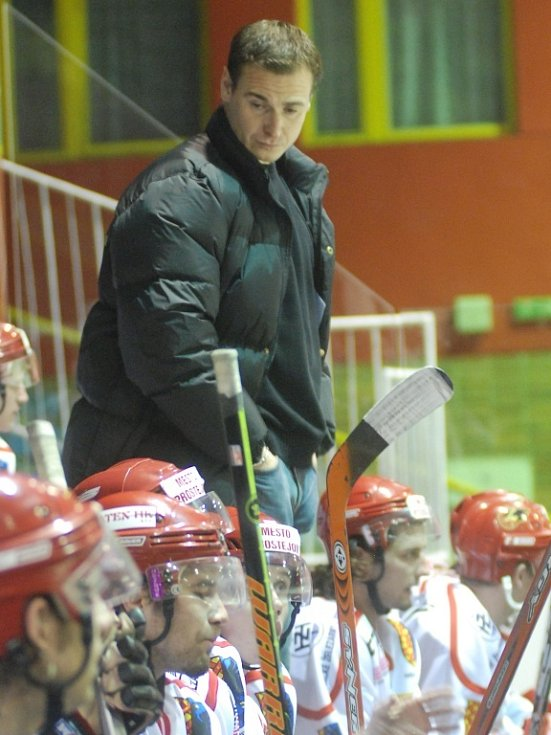 Asistent trenéra HK Martin Janeček.
