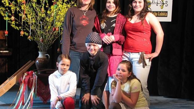 Mladí zpěváci z Hranického  dětského pěveckého sboru soutěžili o Hanáckýho kohóta.