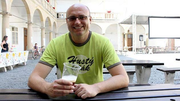 Petr Drozd, zakladatel létajícího pivovaru v Hustopečích nad Bečvou