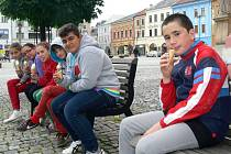 Ve spojitosti s mezinárodním vzdělávacím a poznávacím projektem Comenius zavítala ve čtvrtek do Hranic skupina španělských žáků a kantorů.