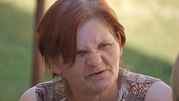 Devětapadesátiletá Zuzana Meszarošová žije v ubytovně pro sociálně slabé v Dluhonské ulici už patnáct let.