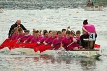 Festival dračích lodí v Hranicích