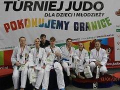 Judisté Judo Hranice a Judo Železo Hranice získali v Polsku devět medailí